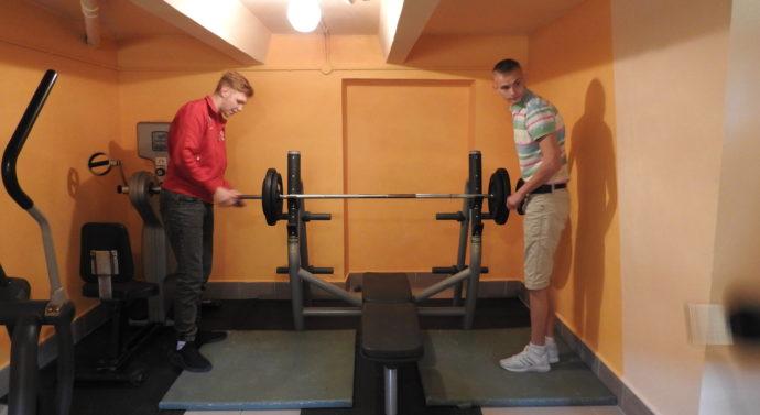 Otwarcie siłowni w CKIW OHP w Tarnowie