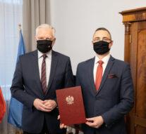 Nowy Komendant Główny OHP powołany przez Premiera Jarosława Gowina