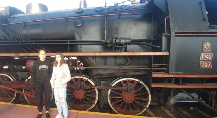 """Pociąg """"RETRO"""" w Tarnowie"""