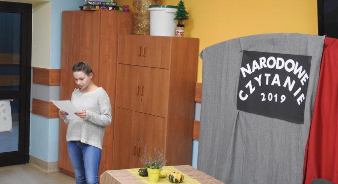 Narodowe czytanie w CKiW OHP w Tarnowie