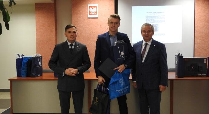 Nasz uczestnik odebrał nagrodę w Szczawnicy