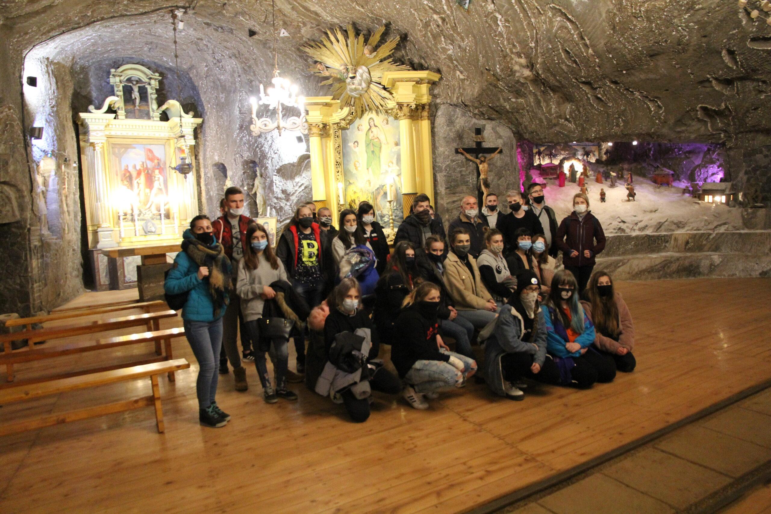 Wizyta w Kopalni Soli w Bochni